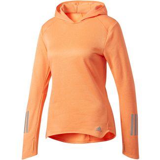 adidas Response Laufhoodie Damen orange