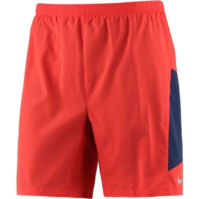 Nike Pursuit Laufshorts Herren orange/blau