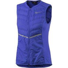 Nike Aeroloft Laufweste Damen blau