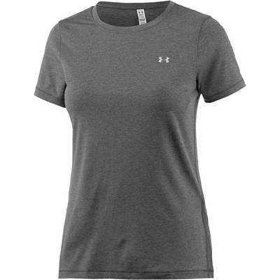 Under Armour Heatgear T-Shirt Damen grau