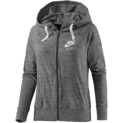 Nike Gym Vintage Sweatjacke Damen grau/melange