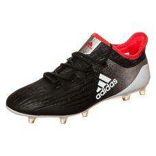 adidas X 17.1 Fußballschuhe Damen schwarz / silber