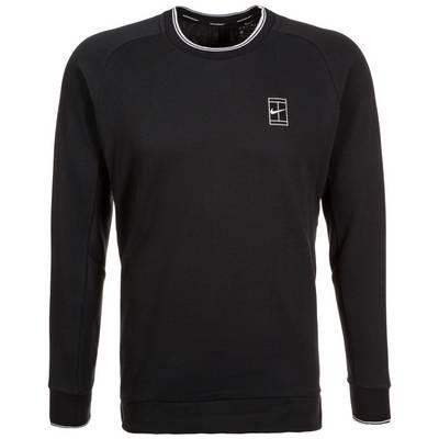 Nike Court Sweatshirt Herren schwarz / weiß
