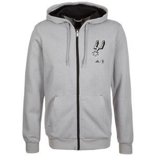 adidas San Antonio Spurs Fanwear Trainingsjacke Herren grau   schwarz 9327201d84