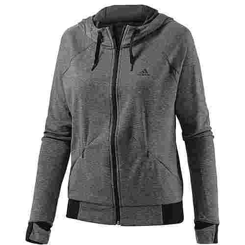 adidas Performance Trainingsjacke Damen grau/melange im Online Shop von  SportScheck kaufen