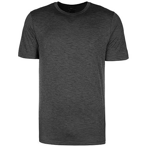 Nike Breathe Hyper Dry Funktionsshirt Herren hellgrau