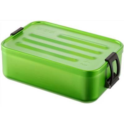 SIGG Alu Box Plus S Campinggeschirr grün