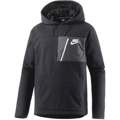 Nike AV15 Hoodie Herren schwarz