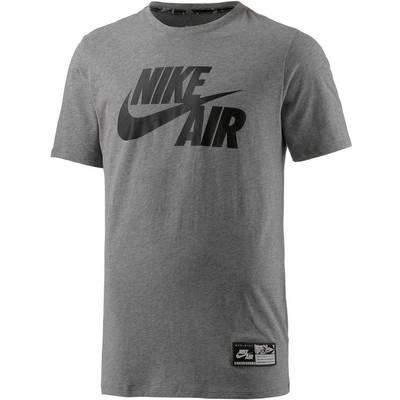 Nike Printshirt Herren grau