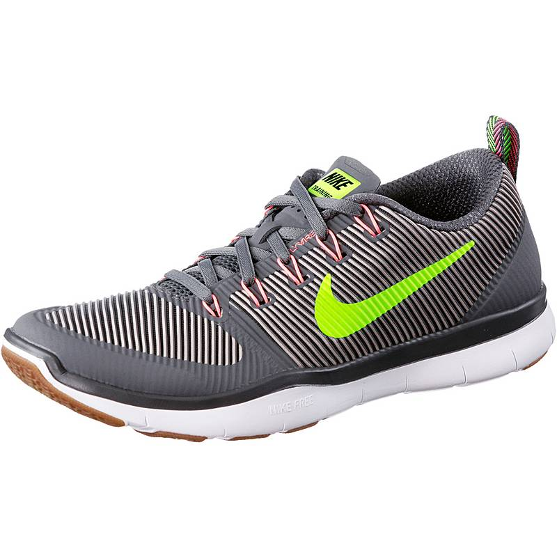 Nike Free Train Versatility Fitnessschuhe Herren grau im Online Shop ...