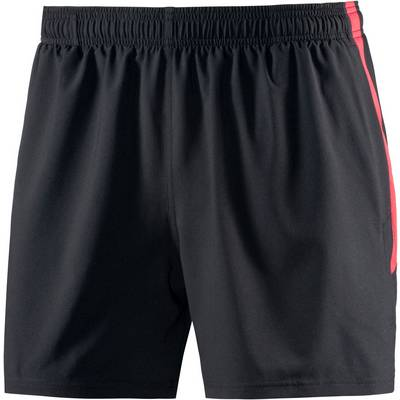 Under Armour Launch Laufshorts Herren schwarz/rot