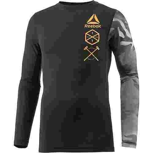 Reebok One Series Activchill Kompressionsshirt Herren schwarz im Online Shop von SportScheck kaufen