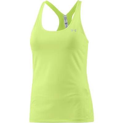 Under Armour Heatgear Funktionstank Damen gelb