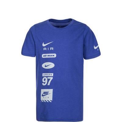Nike Air Pillar Funktionsshirt Kinder blau / grau