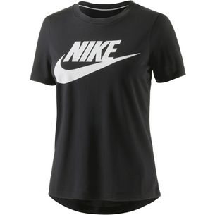 Nike Essential High Brand Read T-Shirt Damen schwarz