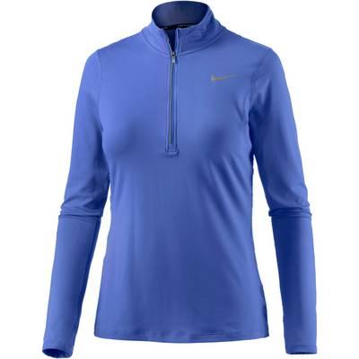 Nike Element Laufshirt Damen blau