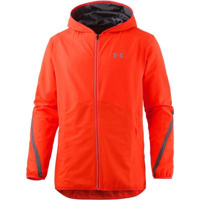 Under Armour Run True Laufjacke Herren orangerot