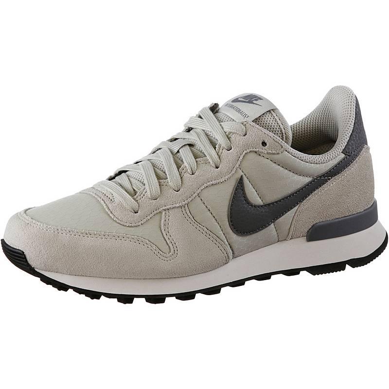 Nike Damen Internationalist Premium Laufschuhe, Grau (Barely