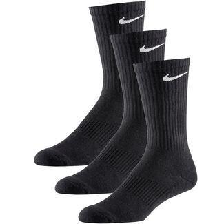 Nike CUSHION CREW Tennissocken schwarz