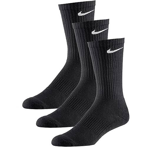 Nike CUSHION CREW Socken Pack schwarz