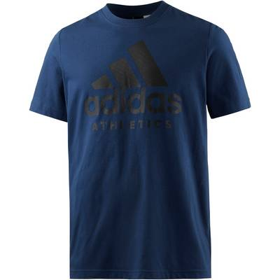 adidas SID Branded Printshirt Herren blau