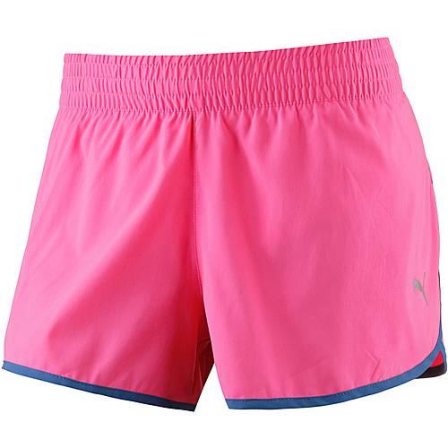 PUMA Core Run 3 Laufshorts Damen pink
