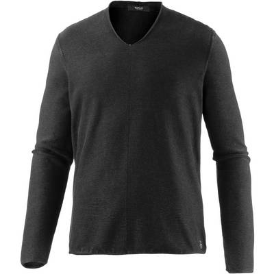 REPLAY V-Pullover Herren schwarz