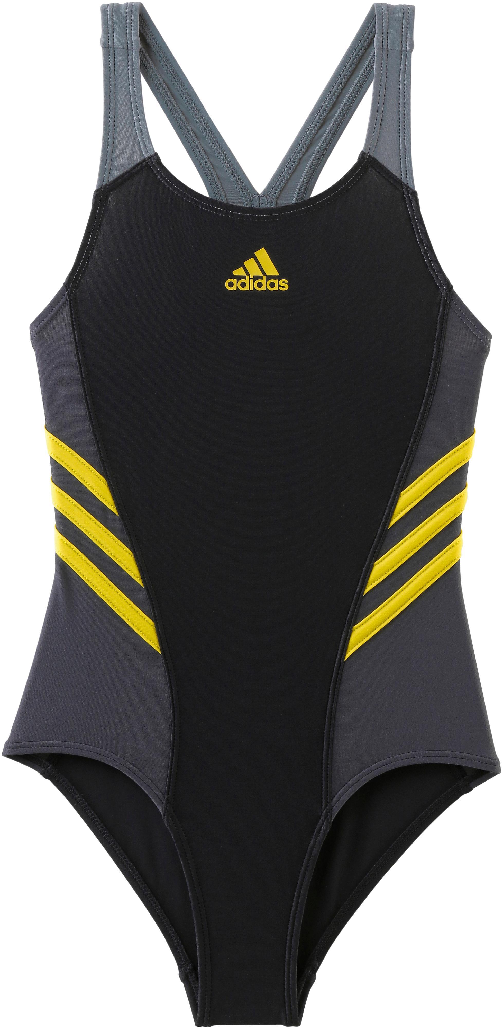 d673bb44d6e9a Adidas Badeanzug Mädchen schwarz/grau im Online Shop von SportScheck kaufen