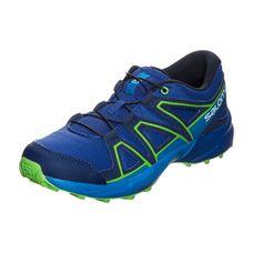 Salomon Speedcross Laufschuhe Kinder blau / grün