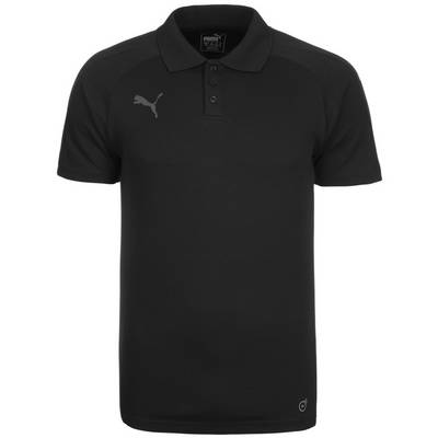 PUMA Ascension Casuals Poloshirt Herren schwarz / anthrazit