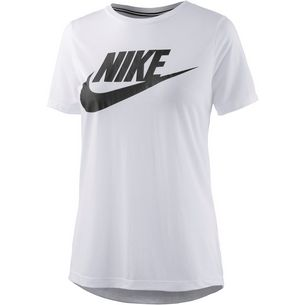 Nike Essential High Brand Read T-Shirt Damen weiß