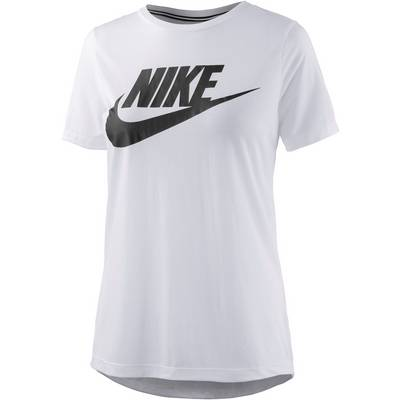 Nike Essential High Brand Read T-Shirt Damen weiß