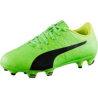 PUMA evoPOWER Vigor 4 FG Jr Fußballschuhe Kinder grün/schwarz