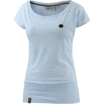 Naketano Wolle IX T-Shirt Damen hellblau melange