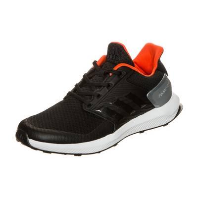 adidas RapidaRun Laufschuhe Kinder schwarz / silber