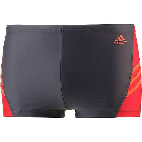 adidas Kastenbadehose Herren schwarz/rot/orange