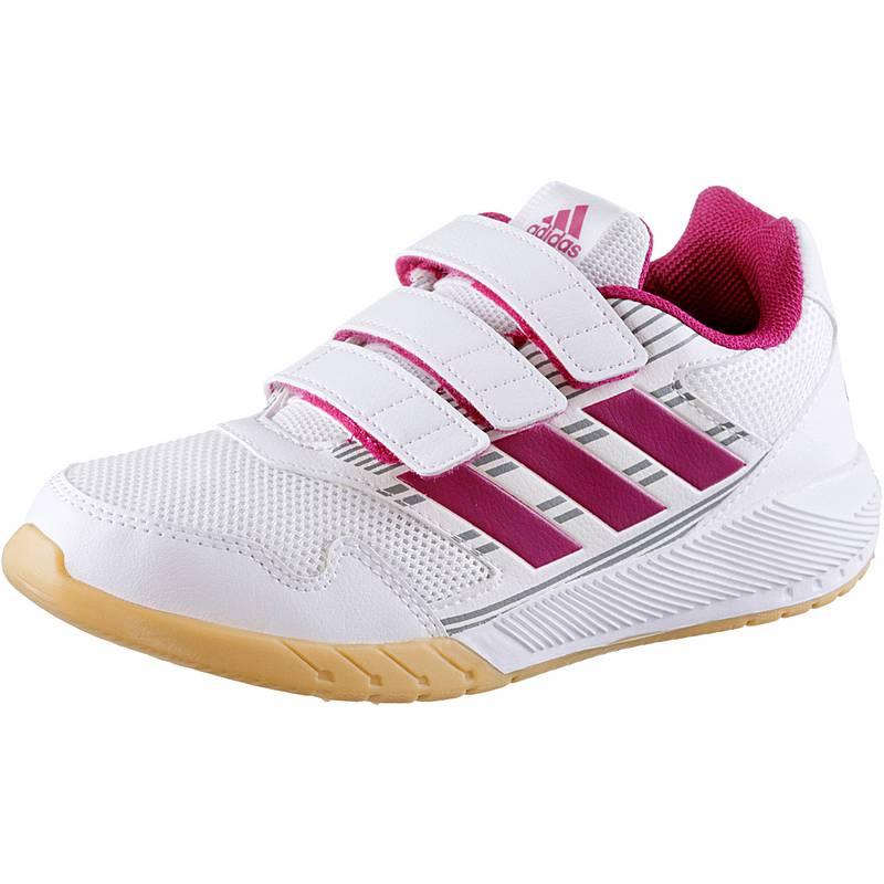 adidasAltaRun  HallenschuheKinder  weiß/pink