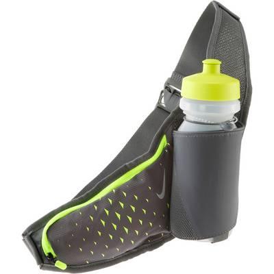 Nike Trinkflaschengurt anthrazit/neongelb
