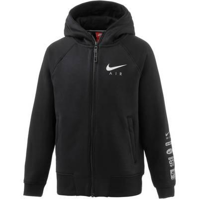 Nike Sweatjacke Kinder anthrazit/schwarz