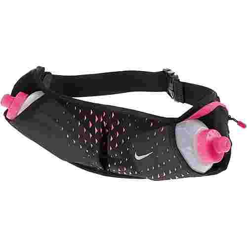 Nike Trinkflaschengurt schwarz/pink
