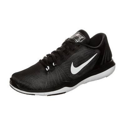 Nike Flex Supreme TR 5 Fitnessschuhe Kinder schwarz / weiß