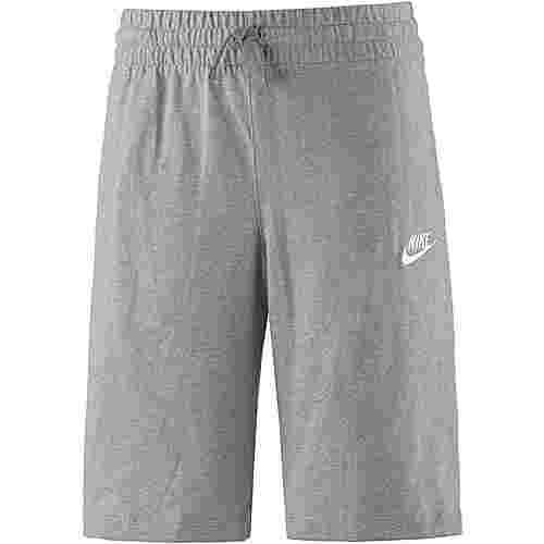 Nike Shorts Kinder dark grey heather-dark steel grey-white