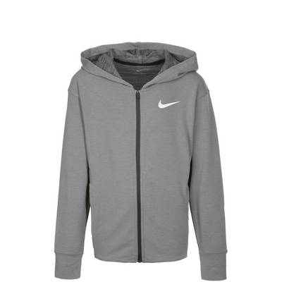 Nike Dry Trainingsjacke Kinder grau / anthrazit