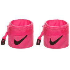 Nike Intensity Wrist Wrap Bandagen pink / anthrazit