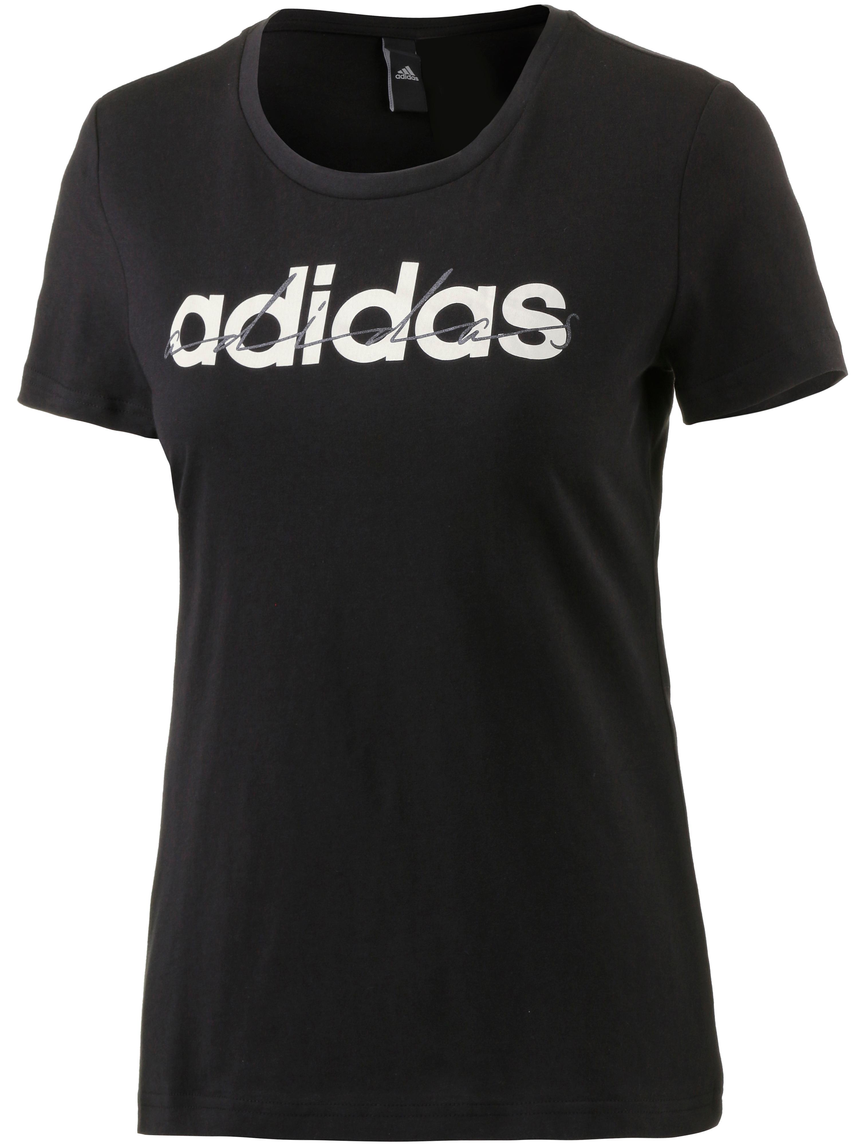 adidas T-Shirt Damen schwarz im Online Shop von SportScheck kaufen