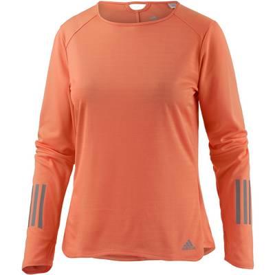 adidas Response Laufshirt Damen orange