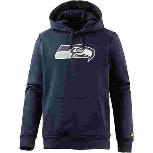 New Era SEATTLE SEAHAWKS Hoodie Herren OCEANSIDE BLUE