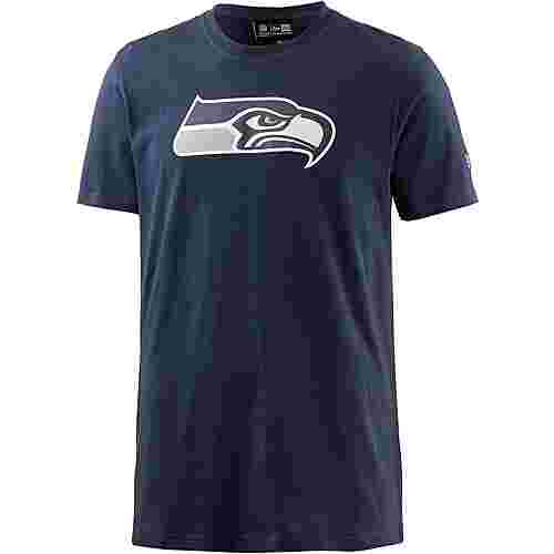 New Era SEATTLE SEAHAWKS T-Shirt Herren OCEANSIDE BLUE