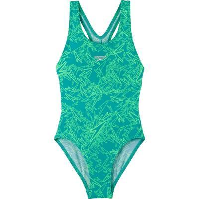 SPEEDO Badeanzug Kinder blau/mint