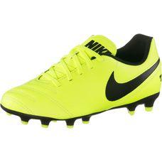 Nike JR TIEMPO RIO III FG Fußballschuhe Kinder gelb/schwarz